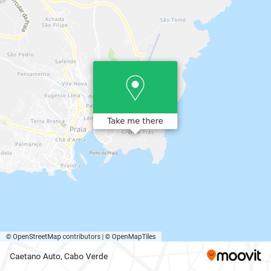 Caetano Auto mapa
