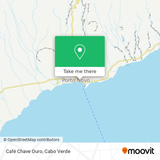 Café Chave Ouro mapa