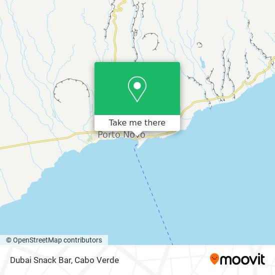 Dubai Snack Bar mapa