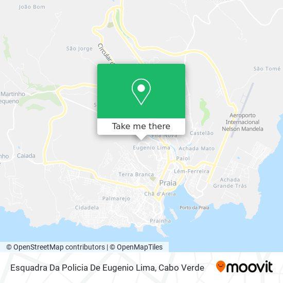Esquadra Da Policia De Eugenio Lima mapa
