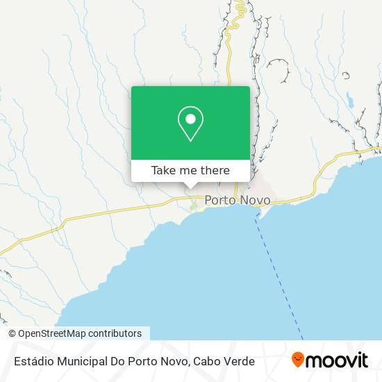 Estádio Municipal Do Porto Novo mapa