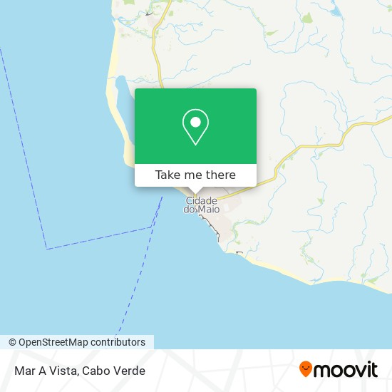 Mar A Vista mapa