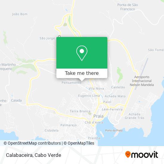 Calabaceira mapa