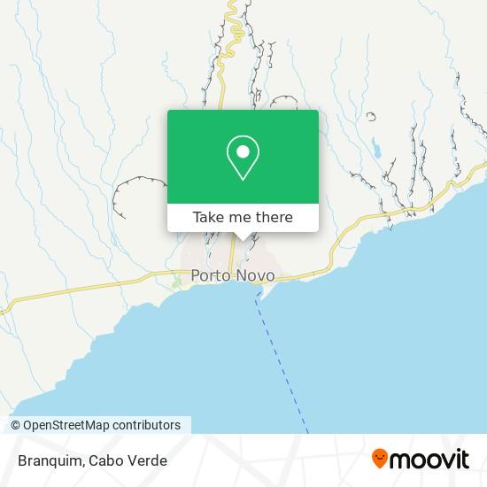 Branquim mapa