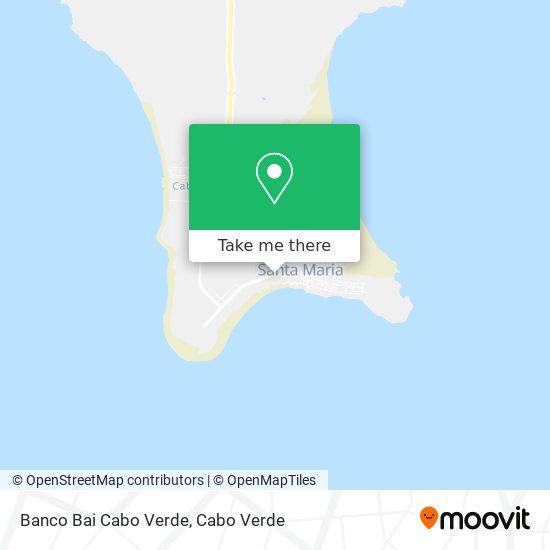 Banco Bai Cabo Verde mapa