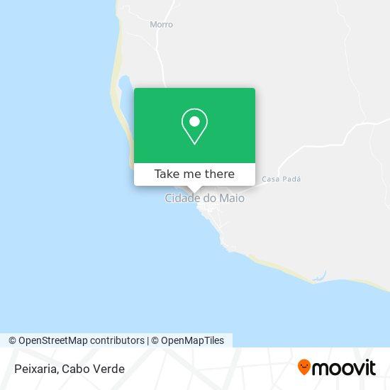 Peixaria mapa