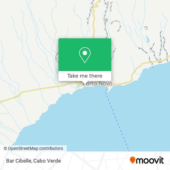 Bar Cibelle mapa