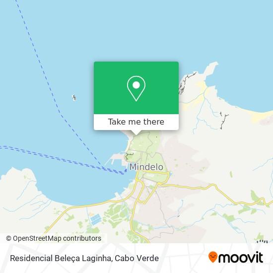 Residencial Beleça Laginha mapa