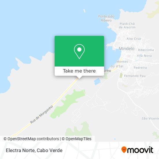 Electra Norte mapa