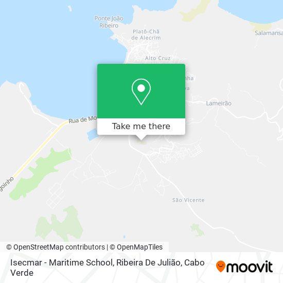 Isecmar - Maritime School, Ribeira De Julião mapa