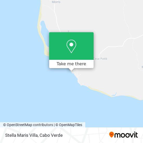 Stella Maris Villa mapa