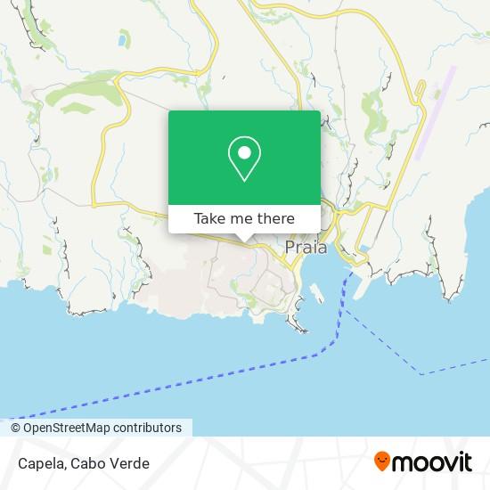 Capela mapa