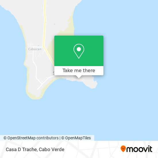 Casa D Trache mapa