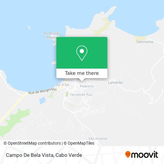 Campo De Bela Vista mapa