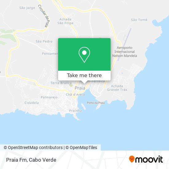 Praia Fm mapa