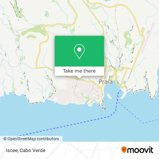 Iscee mapa