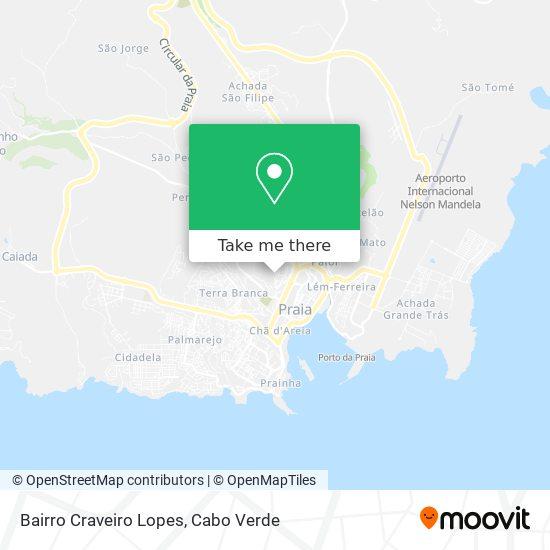 Bairro Craveiro Lopes mapa