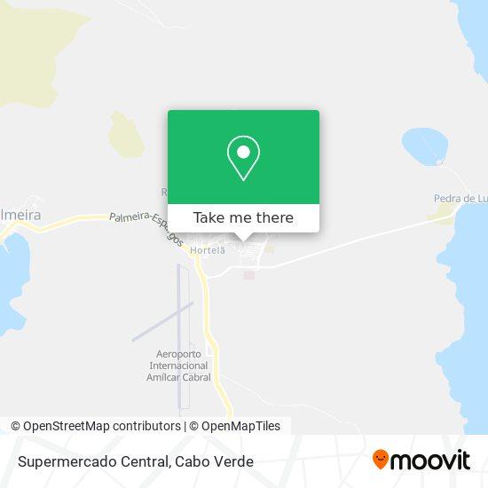 Supermercado Central mapa
