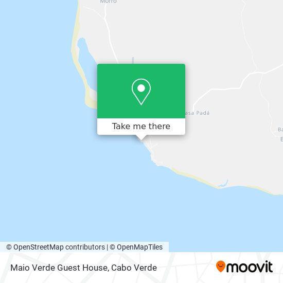 Maio Verde Guest House mapa