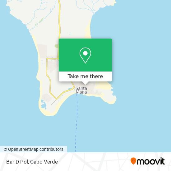 Bar D Pol mapa