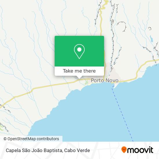 Capela São João Baptista mapa