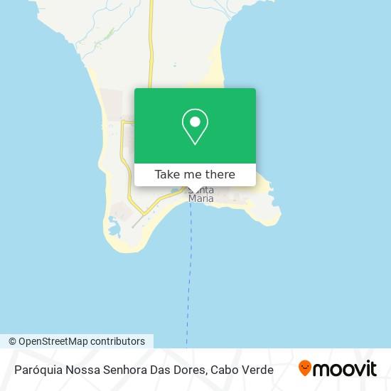 Paróquia Nossa Senhora Das Dores mapa
