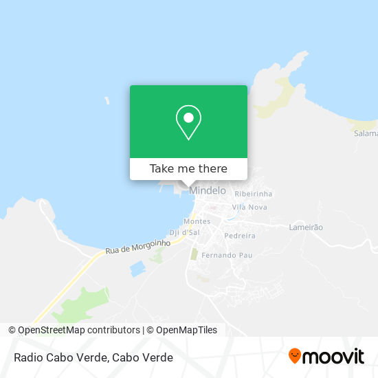 Radio Cabo Verde mapa