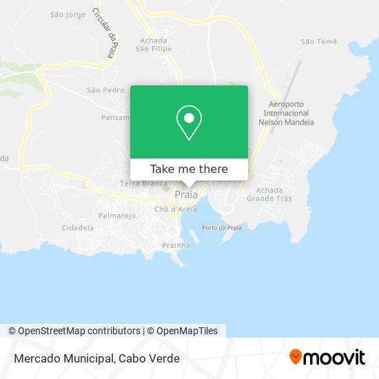 Mercado Municipal mapa