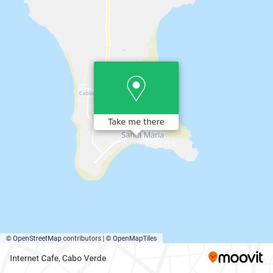 Internet Cafe mapa
