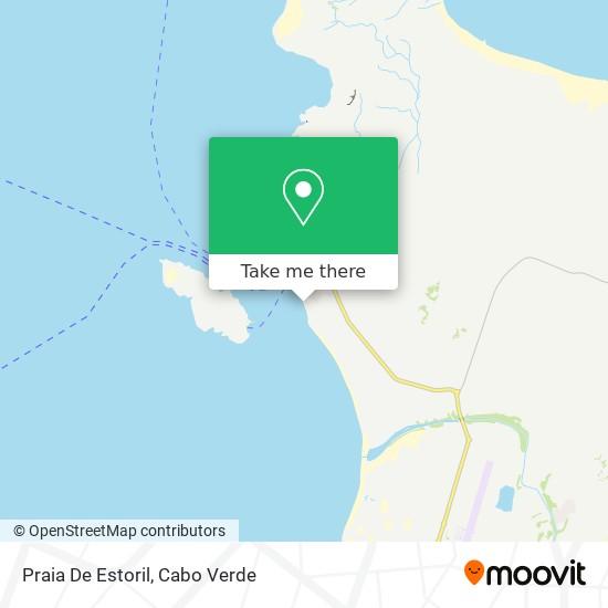 Praia De Estoril mapa