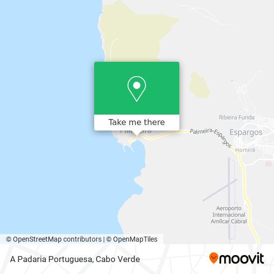 A Padaria Portuguesa mapa