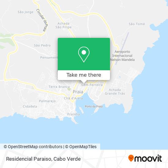 Residencial Paraiso mapa