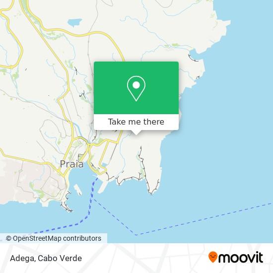 Adega mapa