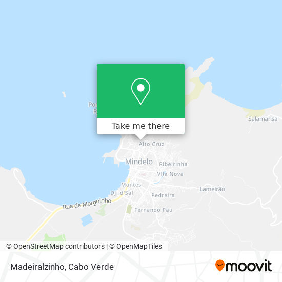 Madeiralzinho mapa