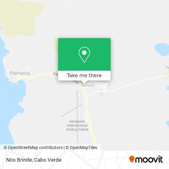 Nôs Brinde mapa