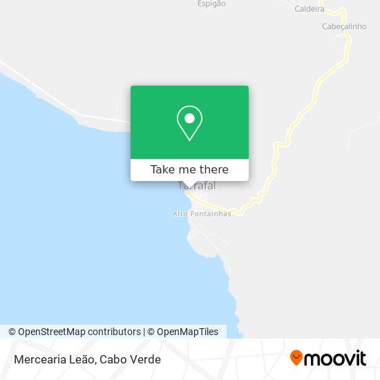 Mercearia Leão mapa