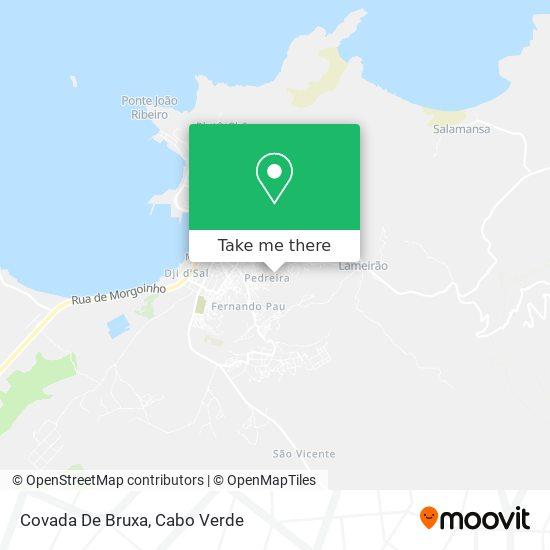 Covada De Bruxa mapa