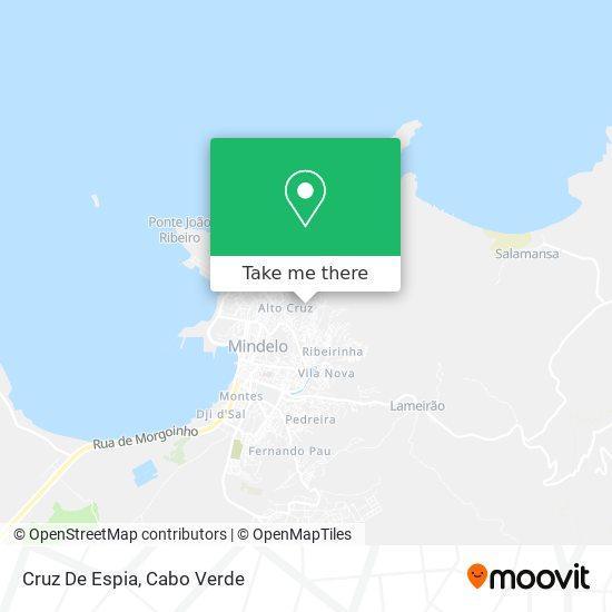 Cruz De Espia mapa