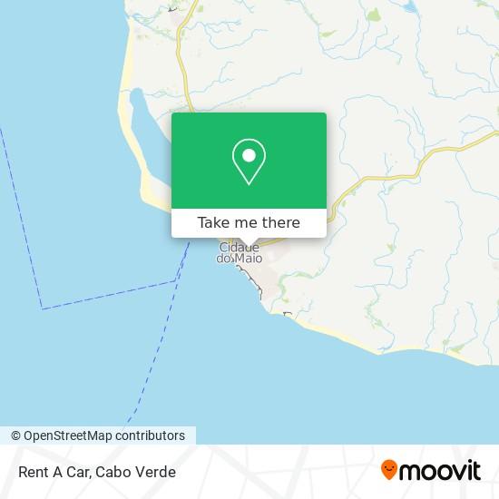 Rent A Car mapa