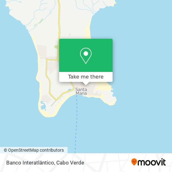 Banco Interatlântico mapa