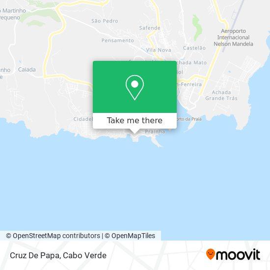 Cruz De Papa mapa