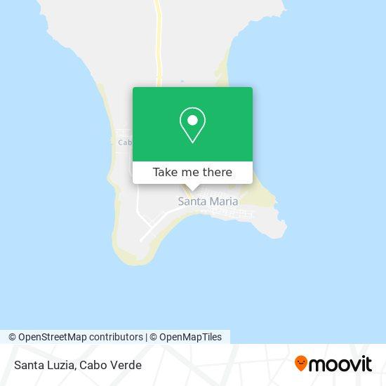 Santa Luzia mapa