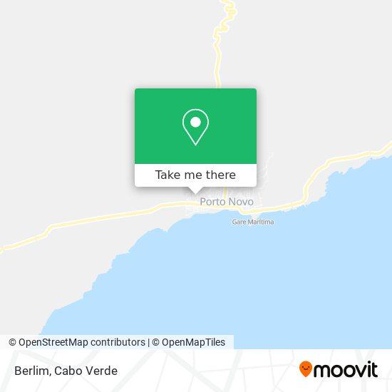 Berlim mapa