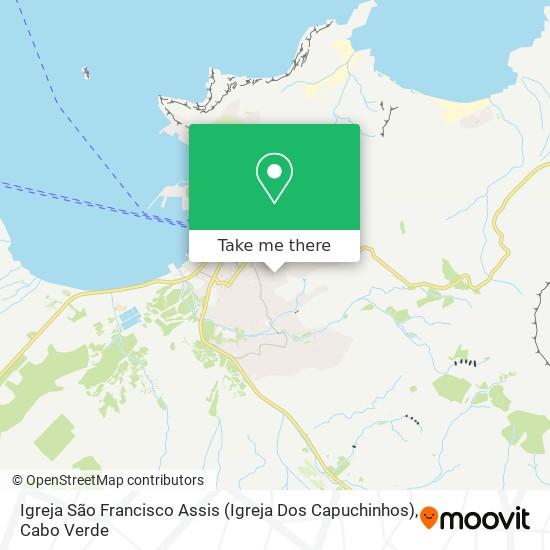 Igreja São Francisco Assis (Igreja Dos Capuchinhos) mapa