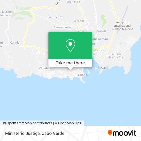 Ministerio Justiça mapa