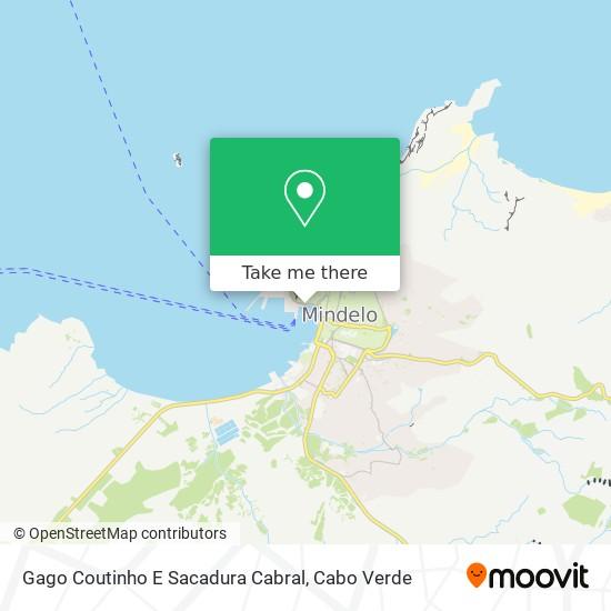 Gago Coutinho E Sacadura Cabral mapa