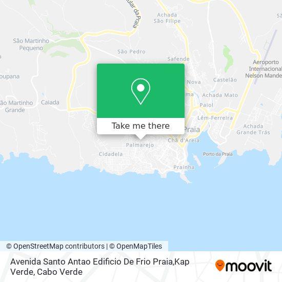 Avenida Santo Antao Edificio De Frio Praia,Kap Verde mapa