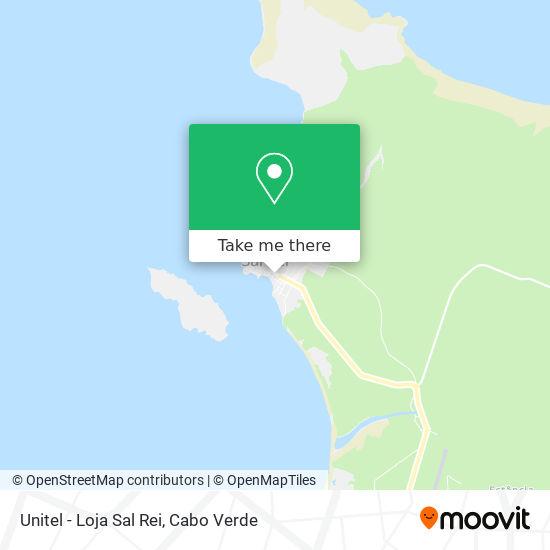 Unitel - Loja Sal Rei mapa
