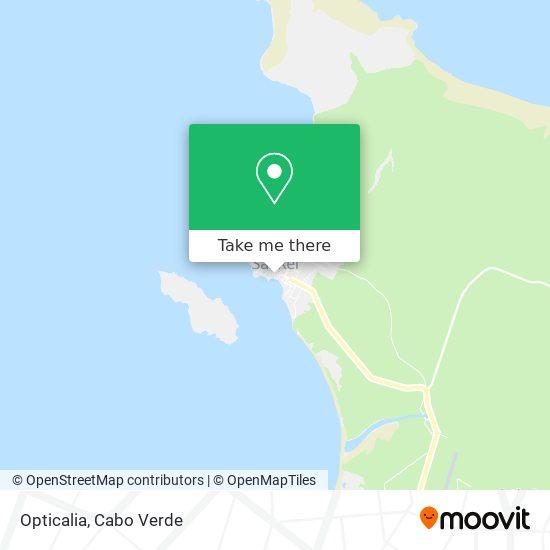 Opticalia mapa