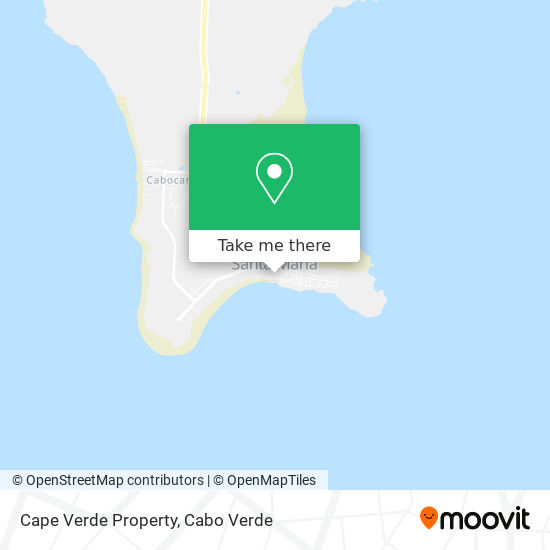 Cape Verde Property mapa